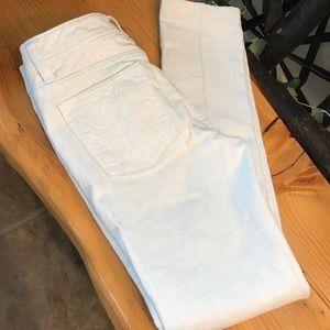 Tory Burch Cropped Super Skinny Jean